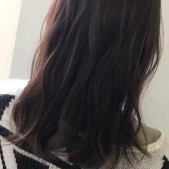 ナチュラル 外国人風カラー 女子力 ミディアム ヘアスタイルや髪型の写真・画像