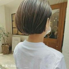 大人かわいい ナチュラル 白髪染め ゆるふわ ヘアスタイルや髪型の写真・画像