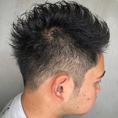 フェードカット ショート メンズヘア メンズ ヘアスタイルや髪型の写真・画像