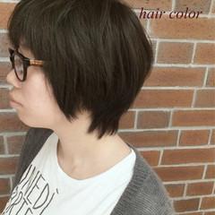アッシュ 色気 外国人風 ハイライト ヘアスタイルや髪型の写真・画像
