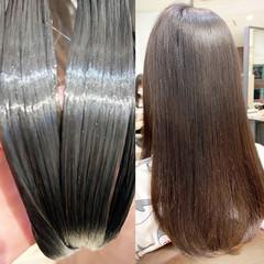ナチュラル ロング 髪質改善トリートメント トリートメント ヘアスタイルや髪型の写真・画像