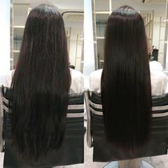 ナチュラル 美髪 艶髪 髪質改善 ヘアスタイルや髪型の写真・画像