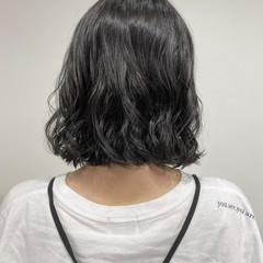 切りっぱなしボブ  ミニボブ ボブ ヘアスタイルや髪型の写真・画像