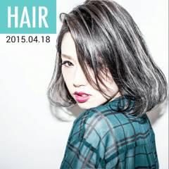 ストリート 外国人風 ボブ パンク ヘアスタイルや髪型の写真・画像