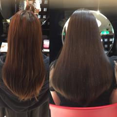 ロング バイオレットアッシュ アッシュ ナチュラル ヘアスタイルや髪型の写真・画像