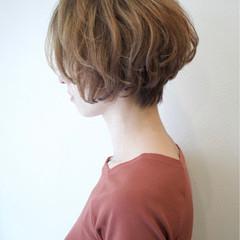 ストリート ショートボブ ショート デート ヘアスタイルや髪型の写真・画像