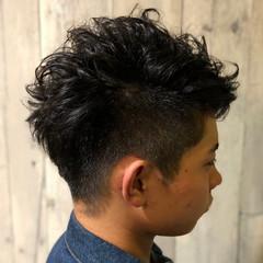 ストリート ショート メンズスタイル パーマ ヘアスタイルや髪型の写真・画像