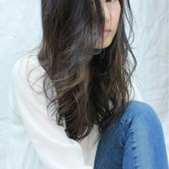 ロング 大人かわいい 外国人風 ゆるふわ ヘアスタイルや髪型の写真・画像