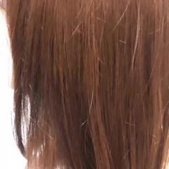 ミディアム インナーカラー ナチュラル ダブルカラー ヘアスタイルや髪型の写真・画像