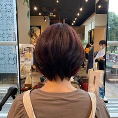 ショート フェミニン 大人可愛い ウルフ女子 ヘアスタイルや髪型の写真・画像