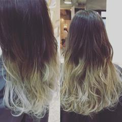 アッシュ 外国人風 フェミニン ガーリー ヘアスタイルや髪型の写真・画像