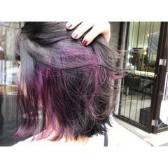 ベージュ ボブ ヘアアレンジ ガーリー ヘアスタイルや髪型の写真・画像