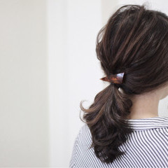 結婚式 セミロング ショート 大人かわいい ヘアスタイルや髪型の写真・画像