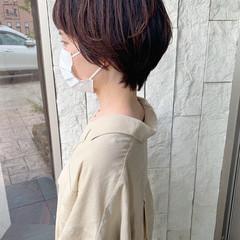 大人ショート ショート 大人女子 ナチュラル可愛い ヘアスタイルや髪型の写真・画像