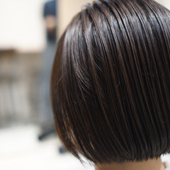 ガーリー ボブ ヘアスタイルや髪型の写真・画像