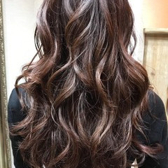 ロング エレガント 艶髪 こなれ感 ヘアスタイルや髪型の写真・画像