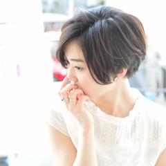 女子会 パーマ 黒髪 大人かわいい ヘアスタイルや髪型の写真・画像