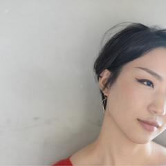 オフィス 透明感 デート 秋 ヘアスタイルや髪型の写真・画像