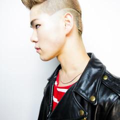 メンズカット ストリート ショートヘア フェードカット ヘアスタイルや髪型の写真・画像