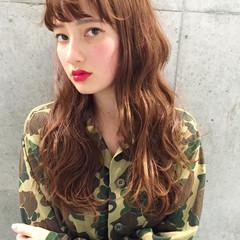パーマ 前髪あり 外国人風 ストリート ヘアスタイルや髪型の写真・画像