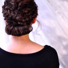 まとめ髪 愛され アップスタイル コンサバ ヘアスタイルや髪型の写真・画像