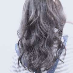 透明感 アッシュ 大人かわいい 外国人風 ヘアスタイルや髪型の写真・画像