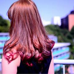 ハイトーン ロング ストリート かっこいい ヘアスタイルや髪型の写真・画像