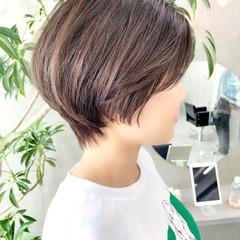 ベリーショート ショート ゆるふわ ナチュラル ヘアスタイルや髪型の写真・画像