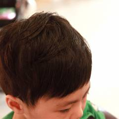 子供 ショート ボーイッシュ ヘアスタイルや髪型の写真・画像