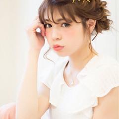 お団子 夏 春 ヘアアレンジ ヘアスタイルや髪型の写真・画像
