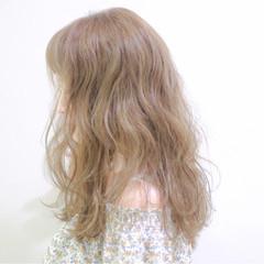 大人かわいい ウェーブ 外国人風 ゆるふわ ヘアスタイルや髪型の写真・画像