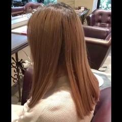 簡単ヘアアレンジ ロング ベージュ ストリート ヘアスタイルや髪型の写真・画像