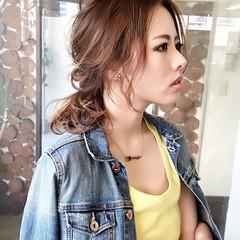 ショート 簡単ヘアアレンジ ポニーテール ヘアアレンジ ヘアスタイルや髪型の写真・画像