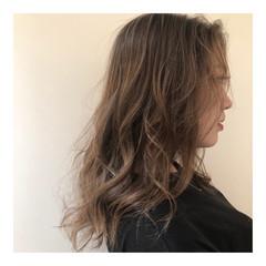 ヘルシー ナチュラル 抜け感 ハイライト ヘアスタイルや髪型の写真・画像