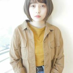 斜め前髪 縮毛矯正 冬 ストレート ヘアスタイルや髪型の写真・画像