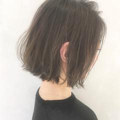 こなれ感 ナチュラル 簡単ヘアアレンジ ボブ ヘアスタイルや髪型の写真・画像