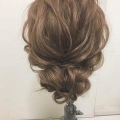 ヘアアレンジ 結婚式 パーティ 大人かわいい ヘアスタイルや髪型の写真・画像