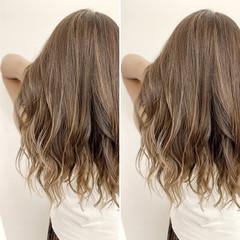 イルミナカラー 外国人風カラー ナチュラル ロング ヘアスタイルや髪型の写真・画像