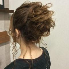 ナチュラル 編み込み 和装 結婚式 ヘアスタイルや髪型の写真・画像