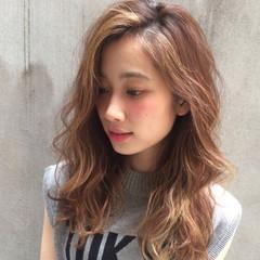 前髪あり ストリート 外国人風 ハイライト ヘアスタイルや髪型の写真・画像