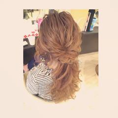 ルーズ ポニーテール 大人かわいい ヘアアレンジ ヘアスタイルや髪型の写真・画像