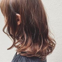 ストリート 外国人風 アッシュ ミディアム ヘアスタイルや髪型の写真・画像