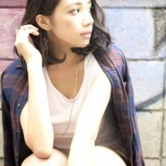 グラデーションカラー 外国人風 ストリート 秋 ヘアスタイルや髪型の写真・画像