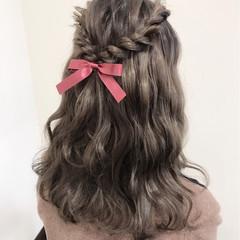 ヘアアレンジ ライブ ロング ガーリー ヘアスタイルや髪型の写真・画像