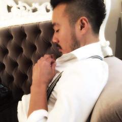 パーマ モード ショート メンズ ヘアスタイルや髪型の写真・画像