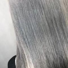 ストリート 女子力 グレージュ 外国人風 ヘアスタイルや髪型の写真・画像