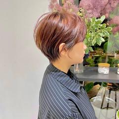 ショート ナチュラル ミニボブ ショートボブ ヘアスタイルや髪型の写真・画像