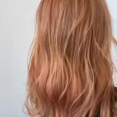 ナチュラル オレンジベージュ オレンジブラウン オレンジ ヘアスタイルや髪型の写真・画像