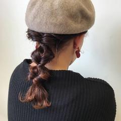 簡単ヘアアレンジ ヘアアレンジ イルミナカラー 簡単 ヘアスタイルや髪型の写真・画像