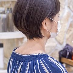 マッシュショート ショートボブ フェミニン ショートヘア ヘアスタイルや髪型の写真・画像